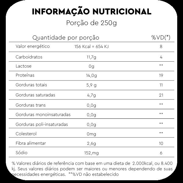 veg protein morango