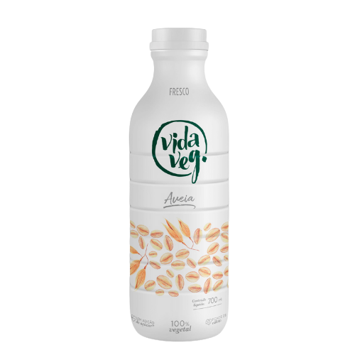 leite fresco de aveia